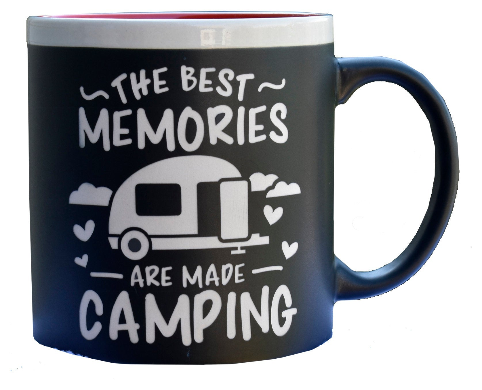 Jumbo Best Memories Camping Coffee Mug Outdoor Theme Camper Gift