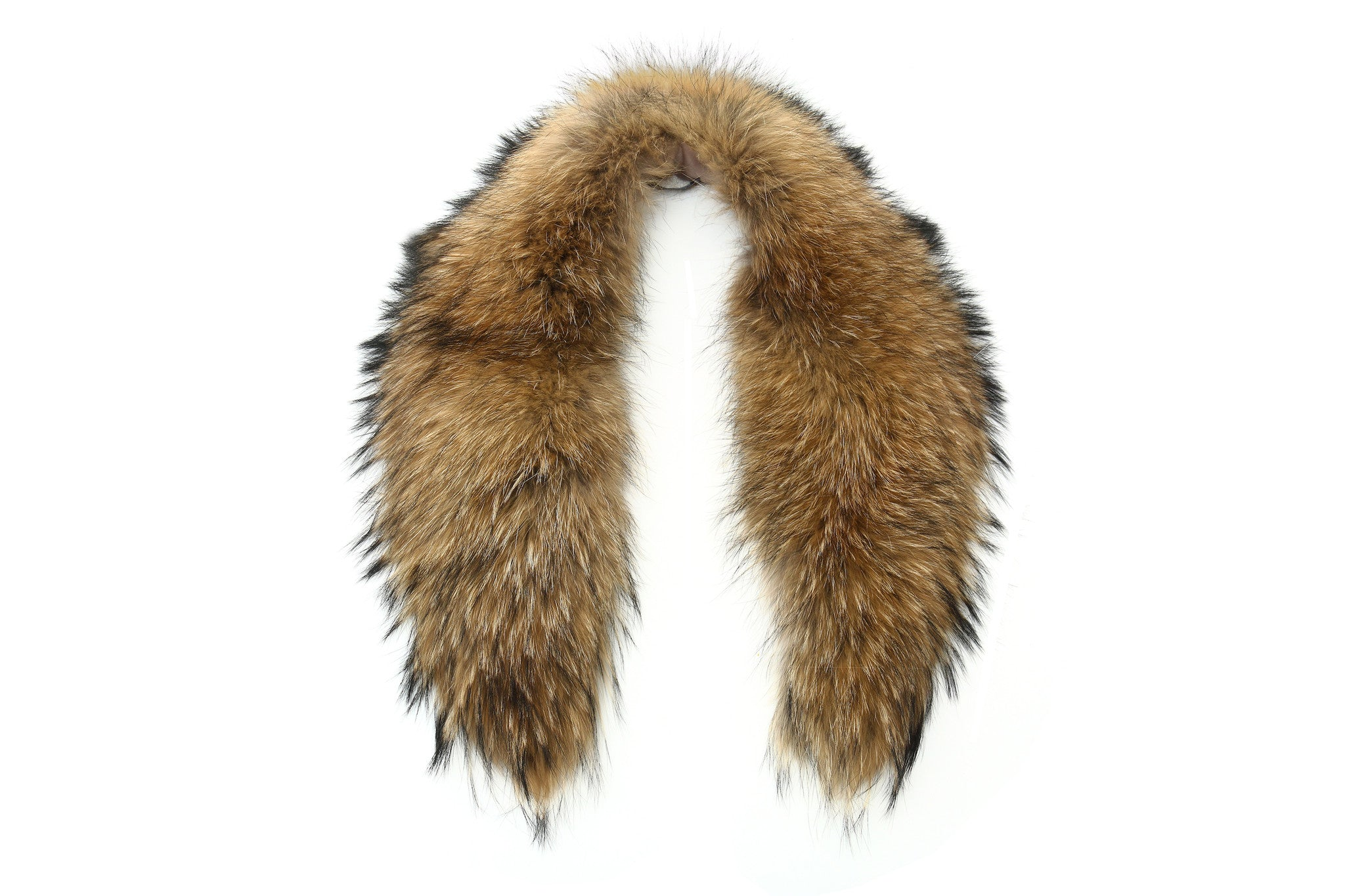 DOVER Raccoon Fur Collar | Natural