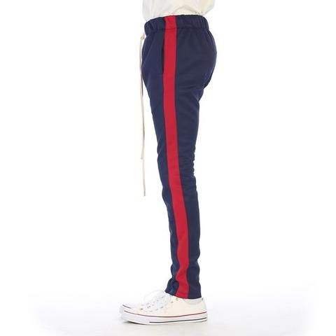 "Eptm Clothing Track Pant ""Navy Red"" $40.00"