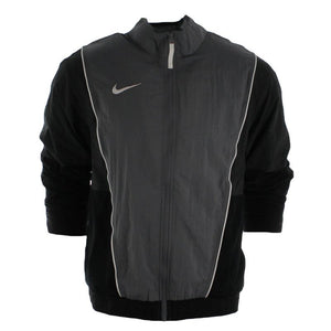 "Nike Woven Throwback Jacket ""Grey Black"" $80.00"