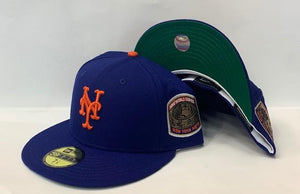"New Era New York Mets Fitted Green Bottom ""Royal Orange"" (1969 World Series Embroidery)"