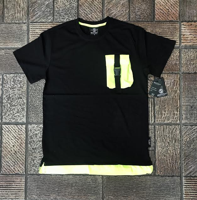 "Switch Remarkable T-Shirt ""Black Neon"" $34.00"