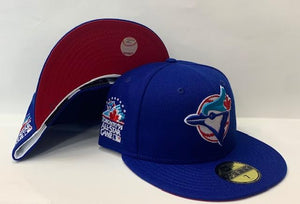 "New Era Toronto Blue Jays Fitted Red Bottom ""Royal Blue"" (1991 Toronto All Star Game Embroidery)"