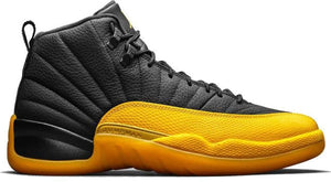 "Air Jordan 12 Retro (GS) ""Black University gold"""