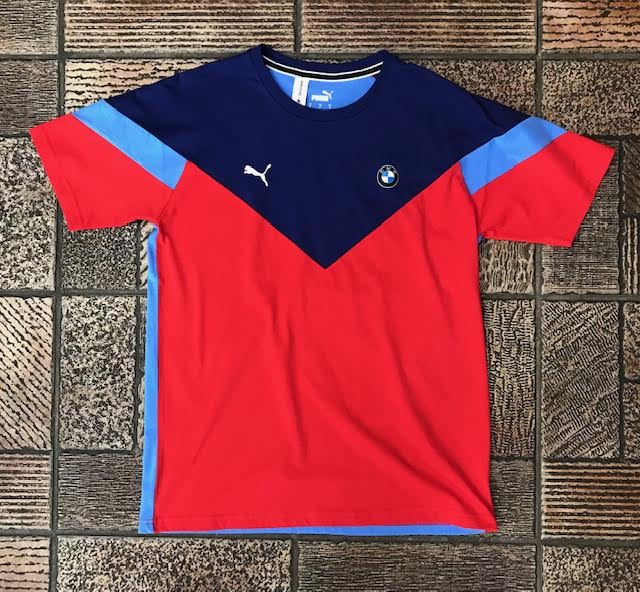 "Puma Bmw Mms Mss T-Shirt ""Blue Red"" $50.00"