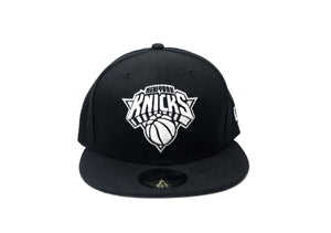"New York Knicks Fitted ""Black White"" $35.00 - FCSSNEAKERS.COM"