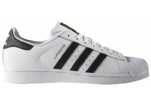 "Adidas Superstar J (GS) ""White Black"""