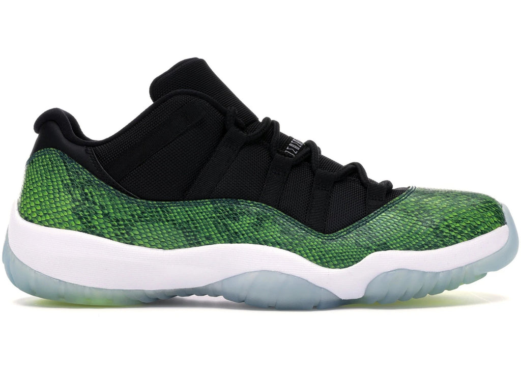 "Air Jordan 11 Retro Low ""Green Snakeskin"""