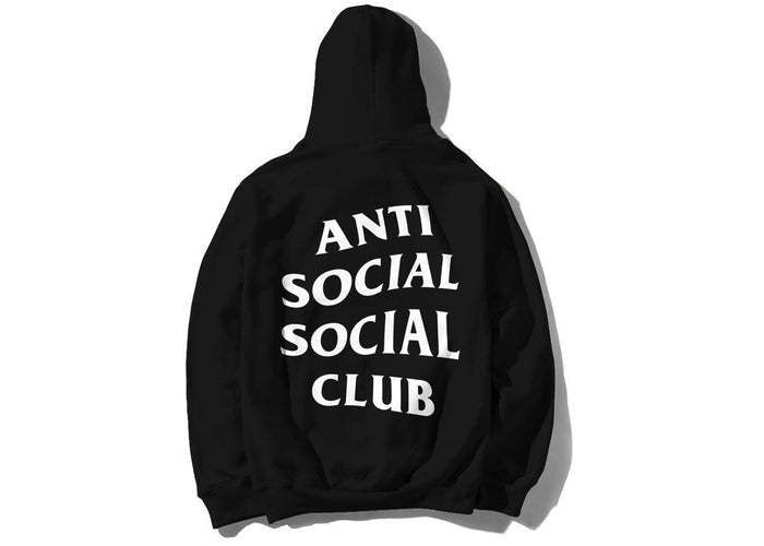 "Anti Social Social Club Mind Games Hoody ""Black White"" $250.00"