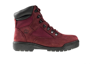 "Timberland 6In F/L Field Boot (PS) ""Burgundy"""