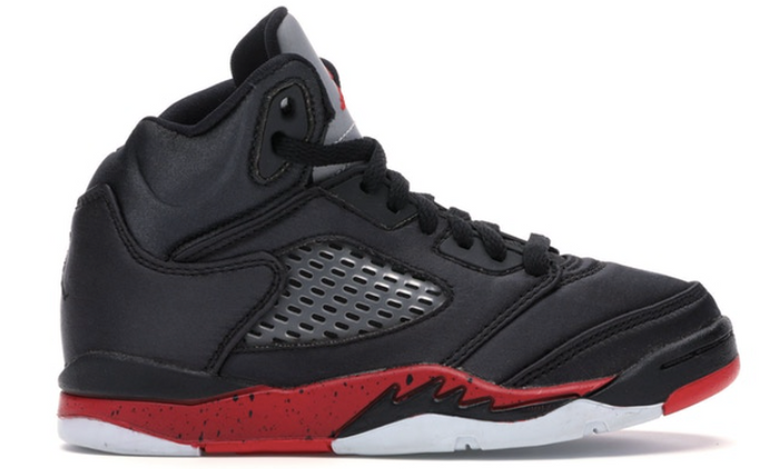 "Air Jordan 5 Retro (PS) ""Satin Bred"""