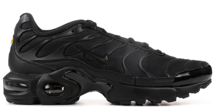 "Nike Air Max Plus (GS) ""Triple Black"""