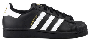 "Adidas Superstar Foundation J (GS) ""Black White"""