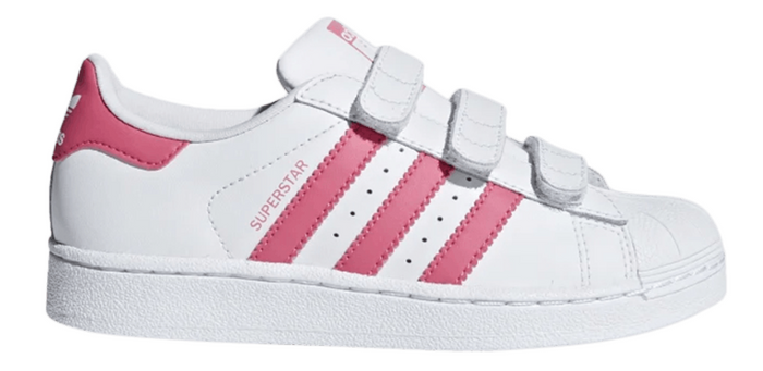 "Adidas Superstar Foundation (PS) ""White Pink"""