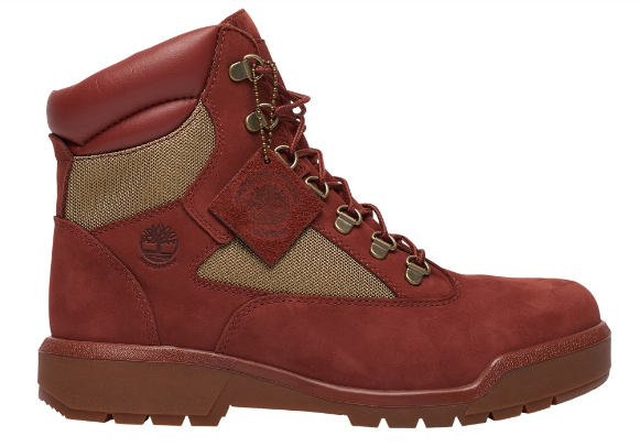 "Timberland Field Boot 6"" WP  L/F ""Rust Nubuck"""