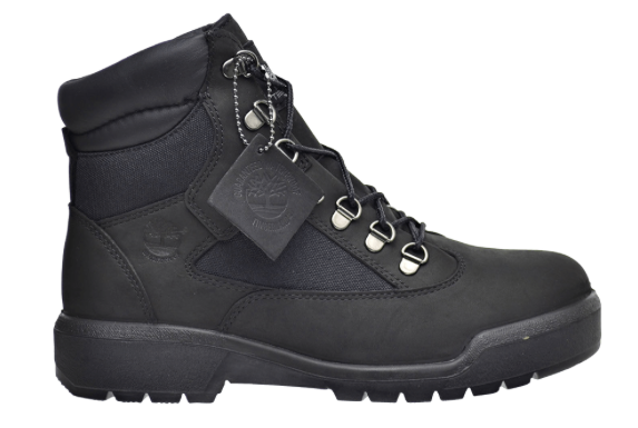 "Timberland Field Boot 6"" F/L WP ""Black Black"""