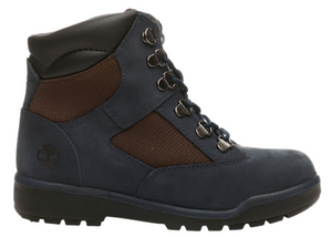 "Timberland 6In F/L Field Boot (GS) ""Navy Nubuck"""