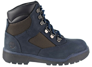 "Timberland 6In F/L Field Boot (PS) ""Navy Nubuck"""