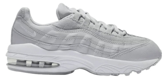 "Nike Air Max 95 (PS) ""Wolf Grey White"""