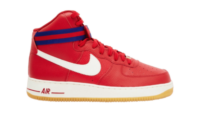 "Nike Air Force 1 High '07 ""Gym Red"""