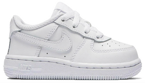 "Nike Air Force 1 (TD) ""White White"""