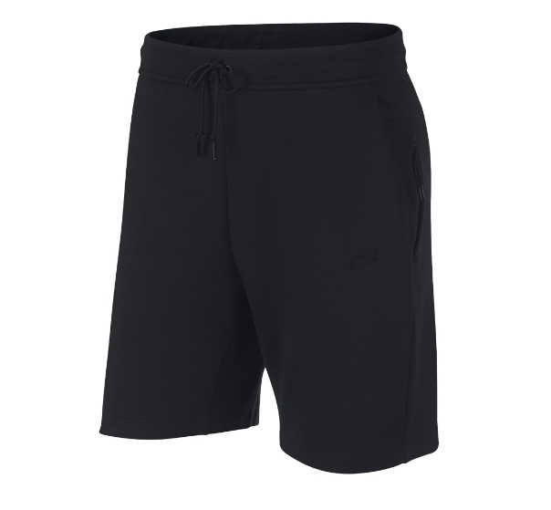 "Nike Tech Fleece Shorts ""Black Black"" $80.00"
