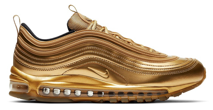 "Nike Air Max 97 QS ""Metallic Gold"""