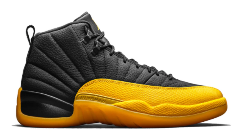 "Air Jordan 12 Retro ""Black University Gold"""