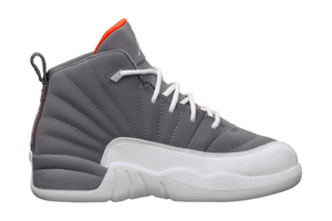 "Air Jordan 12 Retro (PS) ""Cool Grey Orange"""