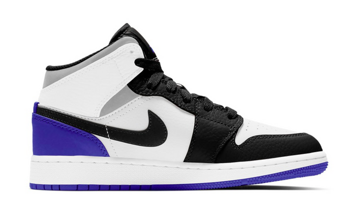 "Air Jordan 1 Mid SE ""White Black Royal"""