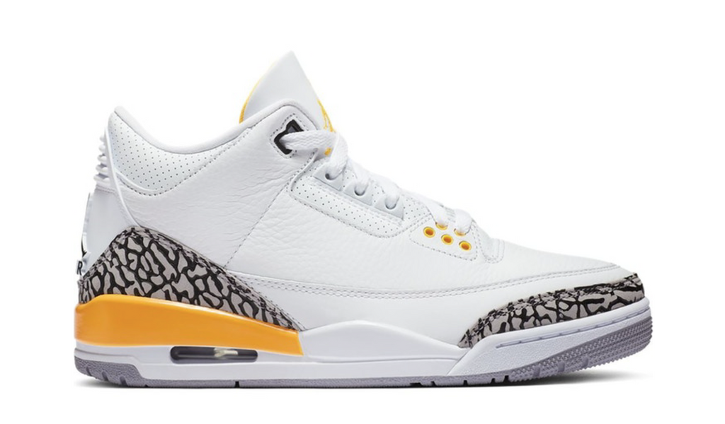 "Women's Air Jordan 3 Retro ""Laser Orange"""