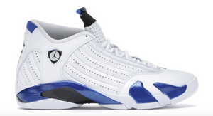 "Air Jordan 14 Retro ""White Hyper Royal"""