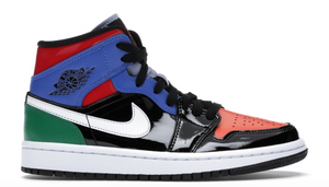 "Women's Air Jordan 1 Mid SE ""Multi Patent"""