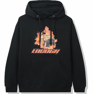 "Anti Social Social Club Enough Of You Hoody ""Black Fire"" $200.00"