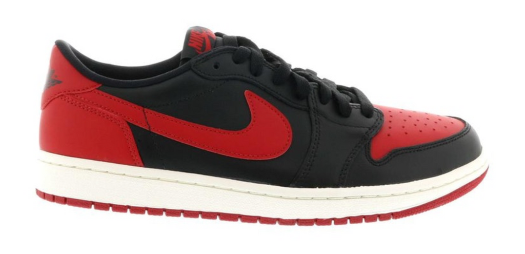 "Air Jordan 1 Retro Low ""Bred"""