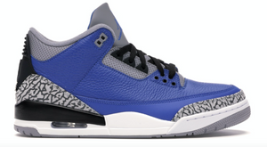 "Air Jordan 3 Retro ""Varsity Royal Cement"""