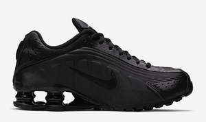 "Nike Shox R4 (GS) ""Triple Black"""