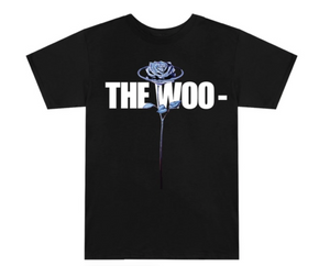 "Vlone Pop Smoke The Woo Tee ""Black White"" $180.00"