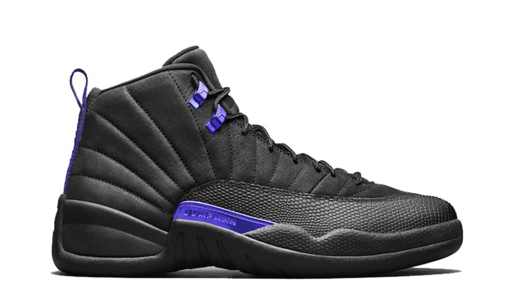"Air Jordan 12 Retro ""Black Dark Concord"""