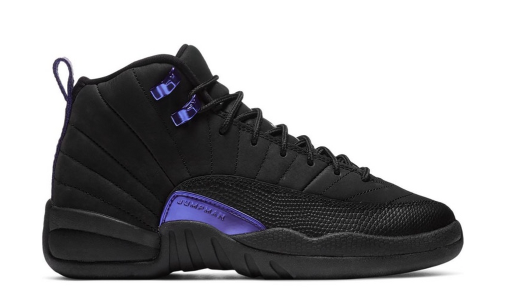 "Air Jordan 12 Retro (GS) ""Black Dark Concord"""