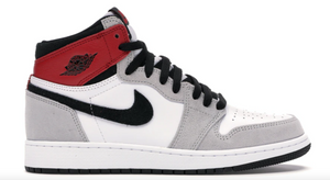 "Air Jordan 1 Retro High OG (GS) ""Light Smoke Grey"""