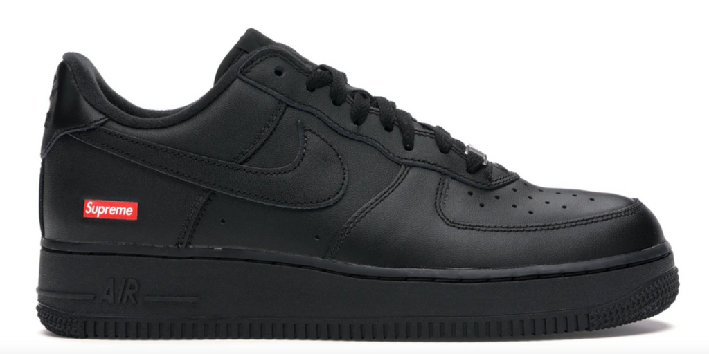 "Nike Air Force 1 Low Supreme ""Black"""