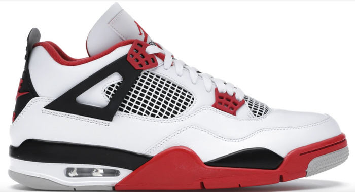 "Air Jordan 4 Retro ""Fire Red 2020"""
