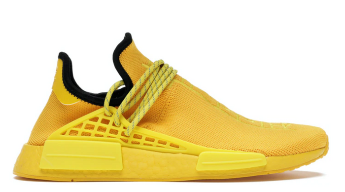 "Adidas Human Pharrell NMD ""Extra Eye Yellow"""