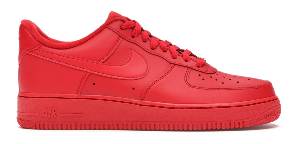 "Nike Air Force 1 '07 LV8 1 ""Triple Red"""