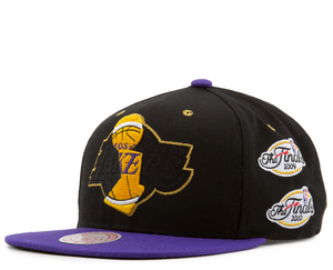 "Mitchell & Ness Los Angeles Lakers Snapback ""Black Purple"" (2009-2010 The Finals)"