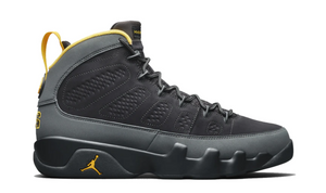 "Air Jordan 9 Retro ""Dark Charcoal University Gold"""