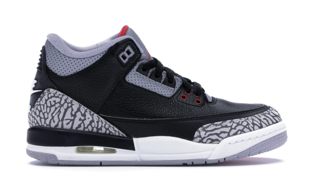 "Air Jordan 3 Retro OG (GS) ""Black Cement"""