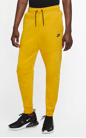 "Nike Tech Fleece Jogger ""Yellow Black"" $110.00"