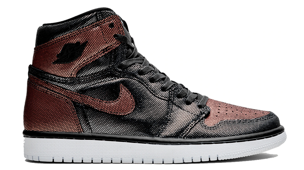 "Womens Air Jordan 1 High OG ""Fearless Metallic Rose Gold"""